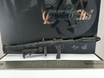 Genuine Hot Toys 1/6 MMS169 Nick Fury action figure Rocket Launcher Only! USA