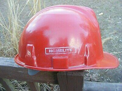 Vintage Welsh Poly Cap 2 Homelite Chainsaws Logo Advertising Logging Hard Hat