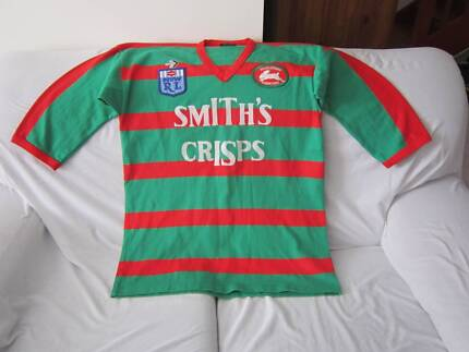 SOUTH SYDNEY RABBITOHS VINTAGE 1980S PEERLESS JERSEY SIZE 2XL