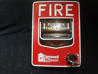 Gamewell Fci Ms-7af Manual Fire Alarm Pull Station Free Shipping