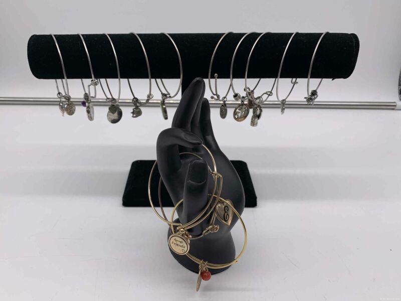 Lot of (13) Unbranded Charm Bracelets Silver/Gold Tone