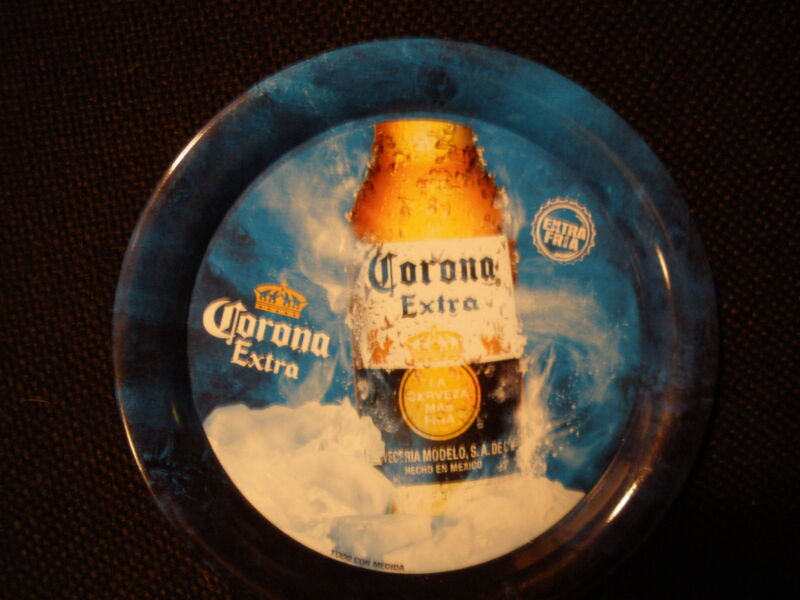 "CORONA EXTRA BEER ""BOTTLE ON ICE"" SMALL TIP TRAY - NEW"