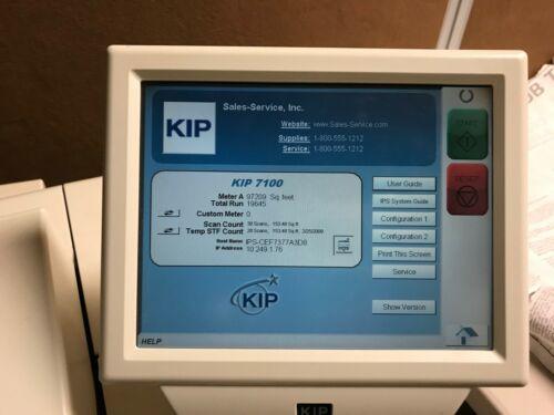 KIP 7100 printer