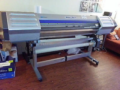 Roland Soljet ProII SC-540 printer/cutter