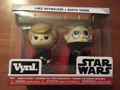 Funko Star Wars Vynl. Luke Skywalker + Darth Vader Vinyl Bobble-Heads 2 pack