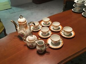 Complete Set of Coffee Service Demi-Cup