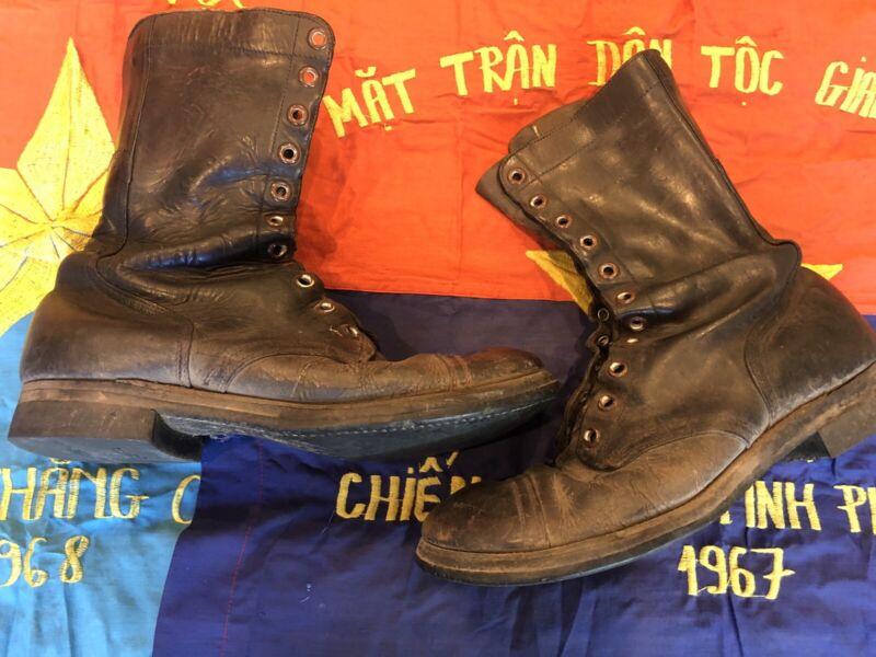 Endicott And Johnson Korean Viet Nam War Era Combat Jump Boots 10.5 R Seiberling