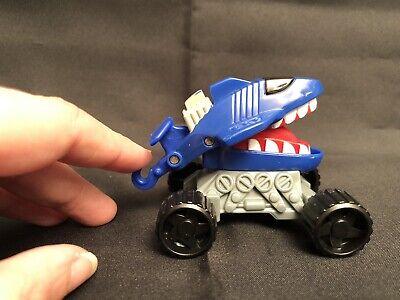 Vintage 1993 McDonald's Happy Meal Hot Wheels Blue Shark Attack Toy Car