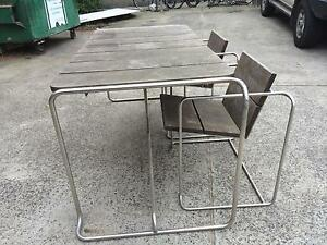 Outdoor Table, bench seat and chairs for sale Dandenong Greater Dandenong Preview