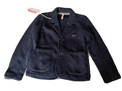 NWT SUN68 Children Boys Blue Cotton Jacket Sz 2