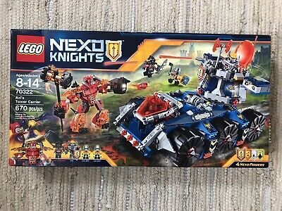 Lego 70322 Nexo Knights Axl's Tower Carrier - Factory Sealed Brand New Toy