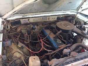 Holden 6cyl blue motor lpg and unleaded, hilux Geraldton Geraldton City Preview