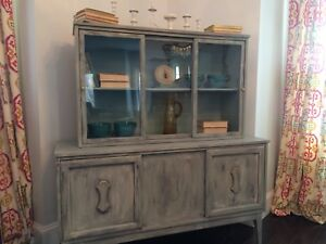 Refinished China Cabinet - FREE DELIVERY THIS WEEK