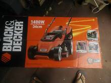Black and Decker lawn mover 1400w hard wired power - BRAND NEW!!! Riverton Canning Area Preview