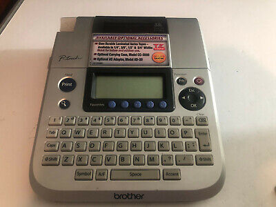 Brother P-touch Pt-1830 Label Maker Thermal Printer No Power Adapter
