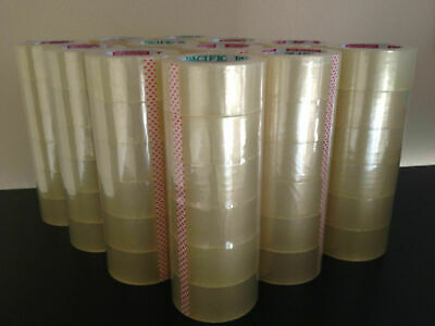 Clear Packaging Tape Sealing Packing Tape 2x110 Yards 36 Rolls Pickup Only