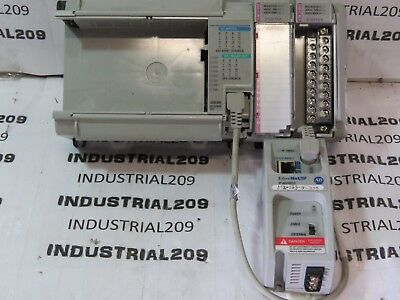 Allen Bradley Micrologix 1500 1764-28bxb 1 1761-net-en1 2 Amci 3601 Used