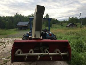 "Farm King Snowblower 74"" with hydraulic shoot"