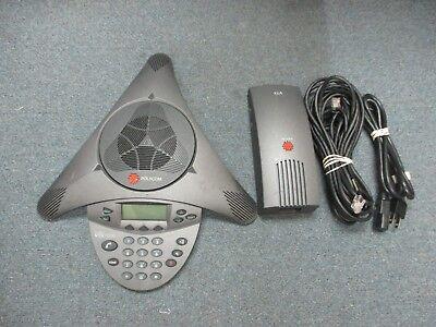 Polycom Soundstation Vtx 1000 2201-07142-601 Display Conference Telephone A