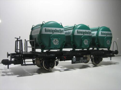 Märklin 58321 Gauge 1 Königsbacher Container Car Freight Wagon New Condition