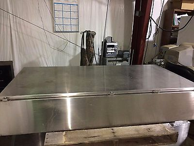 Hoffman Stainless Steel Enclosure A72h3612sslp3pt Type3r44x12 Size72x36x12