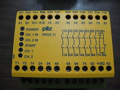 Pilz Pnoz 11 7s1o Safety Relay