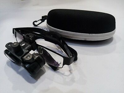 Dental Medical Binocular Loupes 3.5x Magnification Optical Glass Surgical Loupes