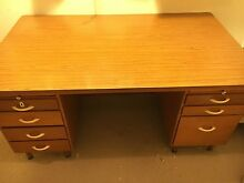 Large sturdy old wooden desk Port Lincoln Port Lincoln Area Preview