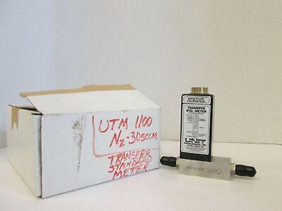 Unit Utm-1100 Mass Flow Calibration Transfer Std. Meter N2 30 Sccm Used