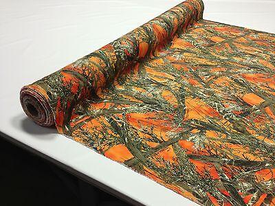 Hunting Camo Fabric True Timber MC2 Blaze Orange 60