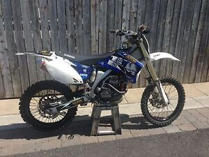 2009 Yamaha yz450f motocross bike