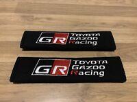 WRC 007334 2 Seat Belt Pad Black with Imitation Leather