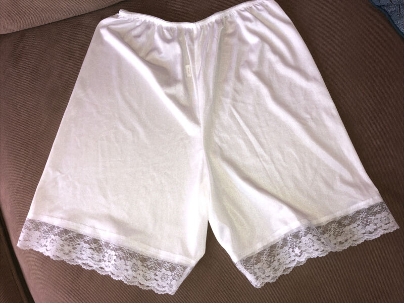 Pettipants Bloomer With Lace White L