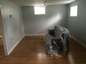 One bedroom basement apartment available July 1rst