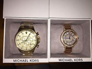 BNIB His and Hers Michael Kors Watches