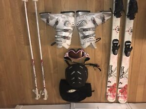Rossignol Fun Girl Pro Girl skis