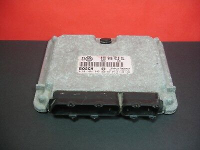 VW GOLF 19 TDI MK4 BOSCH ENGINE ECU 0281001845 038906018BL