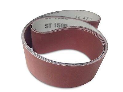 2 X 36 Inch Knife Sharpening Sanding Belts - Ultra Fine Grit-4 Pack Assortment