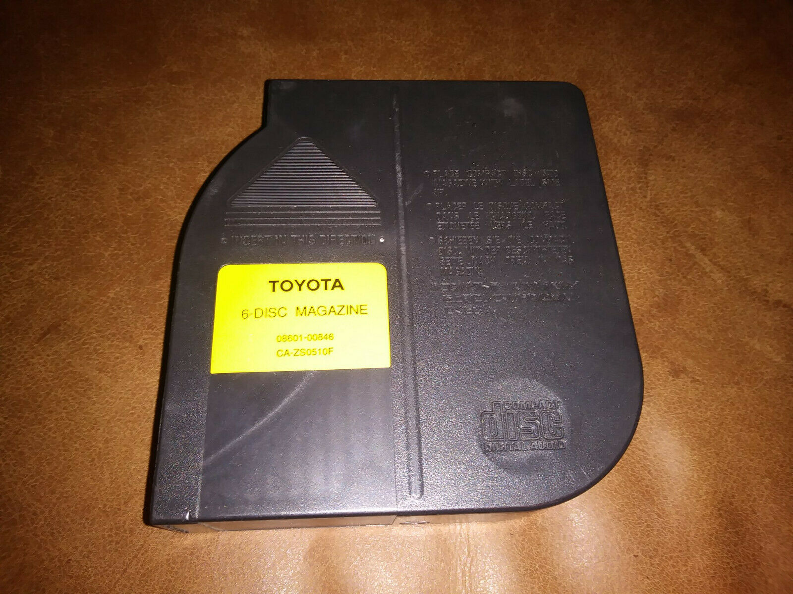 Toyota 6 Disc Magazine CD Changer OEM Part ca-zs0510f
