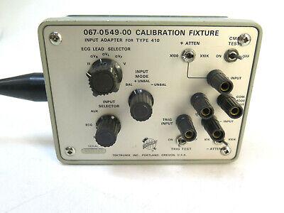 Tektronix Calibration Fixture Input Adapter 067-0549-00