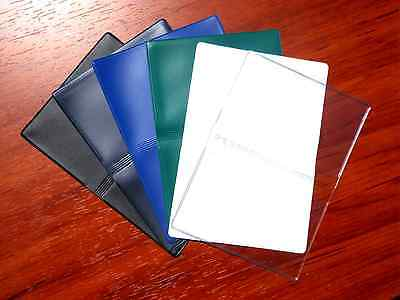 Vinyl Business Card Cases, Debit Credit Gift ID Licenses Slim Wallet Thin Holder Debit Card Id Holder