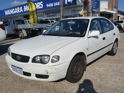 2000 Toyota Corolla Hatch Auto Air Con Power Steer (Drives Well) Wangara Wanneroo Area Preview