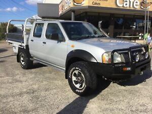 2004 Nissan Navara Turbo Diesel 4x4 Underwood Logan Area Preview