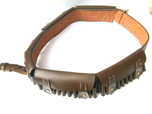 British Martini-Henry Bandolier P-1882 brown leather