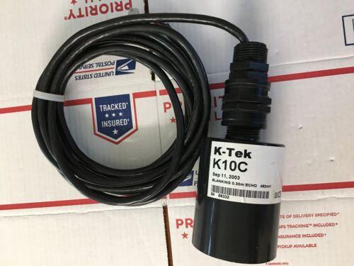 K-TEK K10C ULTRASONIC LEVEL TRANSDUCER, WARRANTY