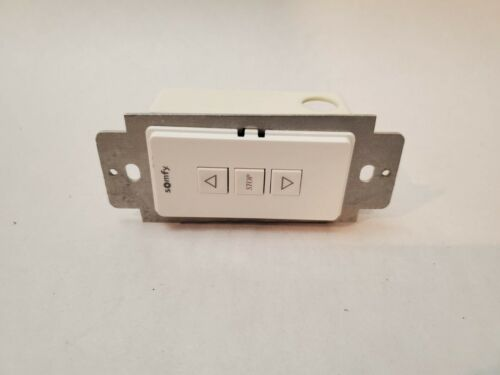 JO 1 QTY: Somfy Single Push Button Switch Station (White) MPN # 1800406 EUC!