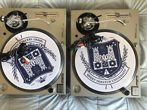 Pair of Technics 1200 MK5's - Technician owned fully serviced