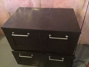 Executive Desk with matching Filing cabinet