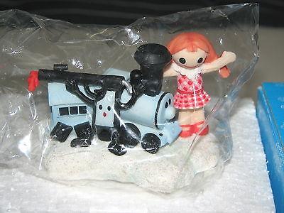 Enesco Rudolph Island Of Misfit Toys Doll Dolly Sue Train Gun Glass Figure MIB