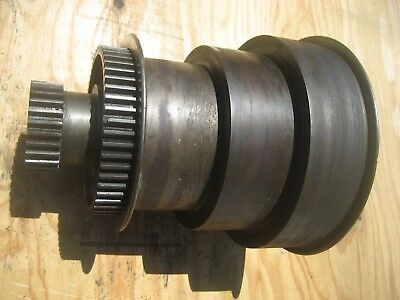 Carroll Jamieson Lathespindle Pulley Gears